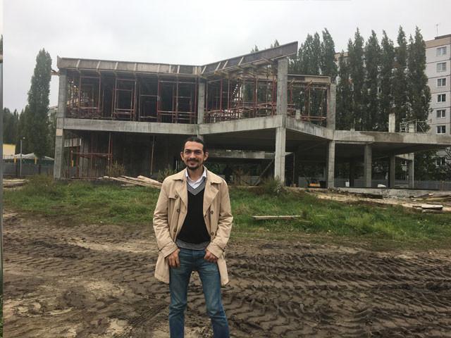Строительство досугового центра Старый Оскол.