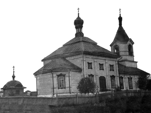 храм Вознесение Господня в с. Троицкое